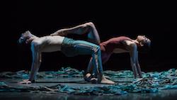 Cincinnati Ballet's Jake Casey and Ana Gallardo in Jennifer Archibald's 'Never.Nest.'. Photo by Peter Mueller.