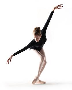 Donna Salgado, curator for the ballet performances as part of Bryant Park Presents Contemporary Dance. Photo by Rachel Neville.
