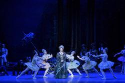 Erica Cornejo with Boston Ballet in Marius Petipa's 'The Sleeping Beauty'. Photo by Liza Voll, courtesy of Boston Ballet.