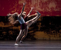 L.A. Dance Project in Justin Peck's 'Murder Ballades'. Photo by Laurent Philippe.