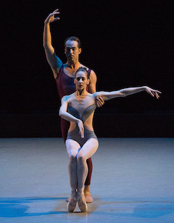 Maria Kowroski and Jared Angle in Christopher Wheeldon's 'Liturgy'. Photo by Christopher Duggan.