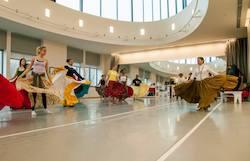 Movement Exchange ethnic dance class. Photo courtsey of Movement Exchange.