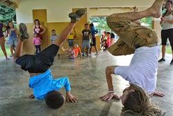 Movement Exchange. Photo by Jillian Hahn.