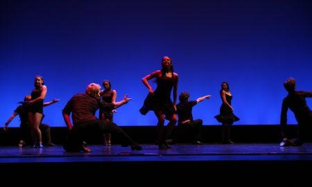 Performers in a scene in Havana Cuban Latin dancing. Photo by Tom Porter.
