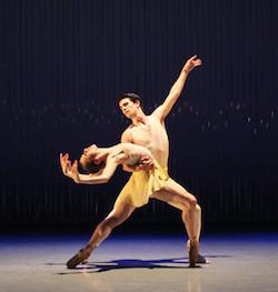 Richmond Ballet in Ma Cong's 'Lift The Fallen'. Photo by Sarah Ferguson.