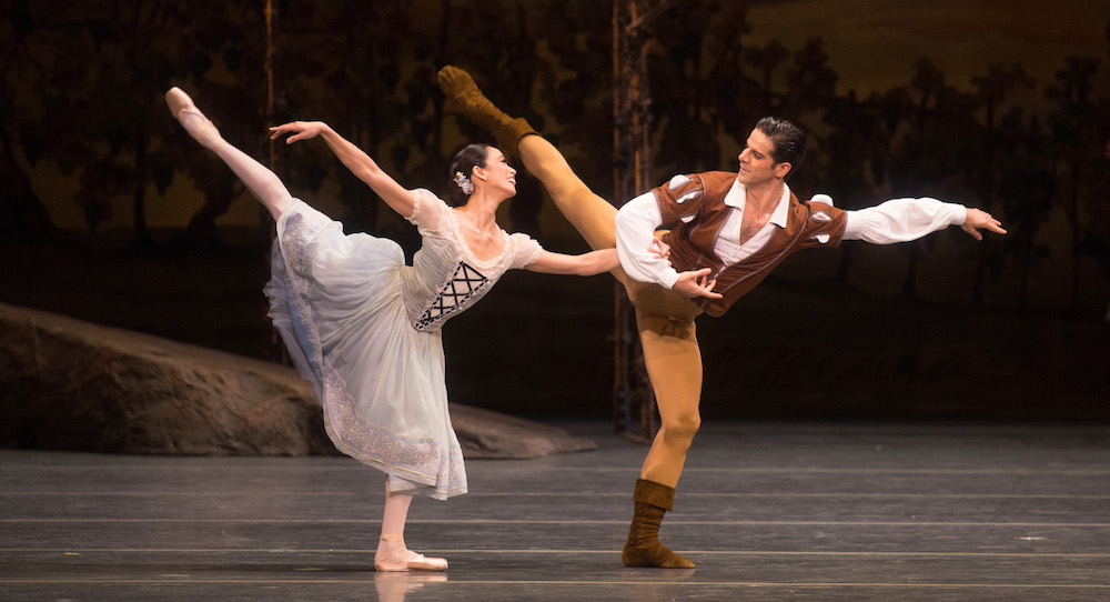 ABT's Stella Aberra and Marcelo Gomes in 'Giselle'. Photo by Rosalie O'Connor.