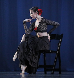 ADC|IBC 2017 Senior Division Grand Prize Winner Shaelynn Estrada in 'Carmen' choreographed by Edward Ellison. Photo by Michelle Revels and SMaCK Arts.