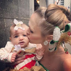 Alina Silver with her baby daughter. Photo courtesy of Silver.