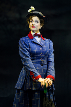 Elena Shaddow in 'Mary Poppins' at Paper Mill Playhouse. Photo by Matthew Murphy.