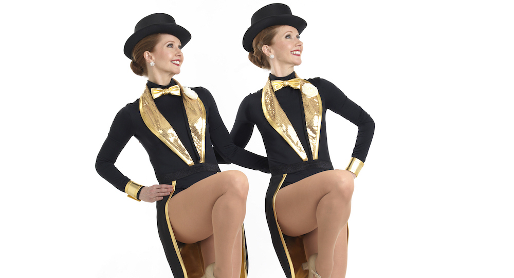 Katherine and Kimberly Corp, Legacy36 dancers and dance captains. Photo by Joe Henson.