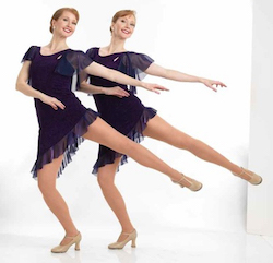 Legacy36 dance captains and performers Kimberly and Katherine Corp. Photo courtesy of Legacy36.