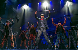 Mark Evans in 'Mary Poppins' at Paper Mill Playhouse. Photo by Jerry Dalia.