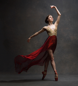 Tiler Peck. Photo courtesy of NYC Dance Project