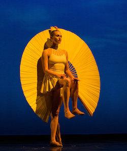 Beau Campbell in Sun Dance of 'Opus Cactus'. Photo by Eddy Fernandez.