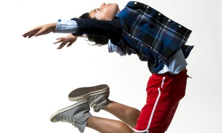 Charlie Ganton in 'Billy Elliot'. Photo courtesy of California Ballet.