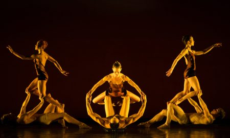 MOMIX in Caravan of 'Opus Cactus'. Photo by Charles Azzopardi.