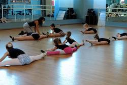 Maria Rodriguez teaching for Broadway Connection.