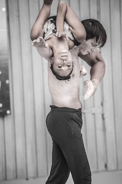 Paul Craig and Lia Cirio. Photo by Sabi Varga.