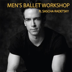 Sascha Radetsky. Photo courtesy of Male Dancer Conference.