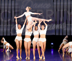 Nationals at Sea. Photo courtesy of Celebrity Dance.