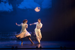 Ashley Shaw as Victoria Page and Sam Archer as Boris Lermontov in 'The Red Shoes'. Photo by Johan Persson.