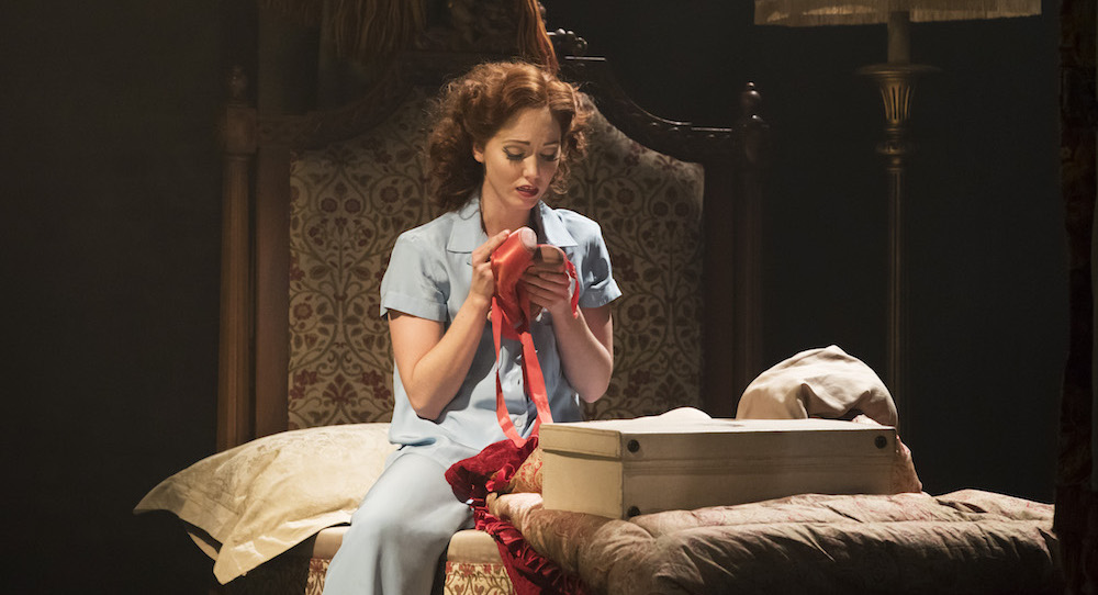 Ashley Shaw as Victoria Page in 'The Red Shoes'. Photo by Johan Persson.