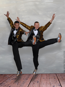 Avi Miller and Ofer Ben. Photo by Larry Giasi:American Dance Portraits.