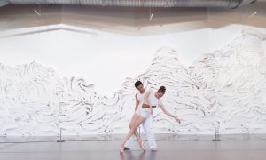 CONTINUUM Contemporary/Ballet in 'Wind to Wave' at the Grounds For Sculpture. Photo by Michael Darling.
