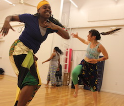 Brooklyn dance class