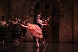 Sharon Wehner of Colorado Ballet in Don Quixote. Photo by Terry Shapiro
