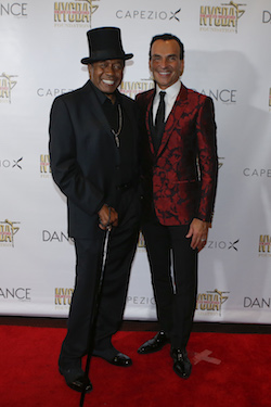 Ben Vereen and Joe Lanteri at the NYCDAF Bright Lights Shining Stars Gala. Photo courtesy of NYCDAF.