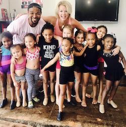 CharLee Hanna-Rule and students. Photo courtesy of iRule Dance Studio.
