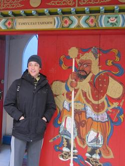 Dana Tai Soon Burgess in Mongolia. Photo by Laura McDonald.