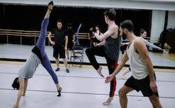 Dana Tai Soon Burgess rehearsing dancers. Photo by Matailong Du.