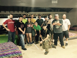 First responders at iRule Dance Studio. Photo courtesy of iRule.