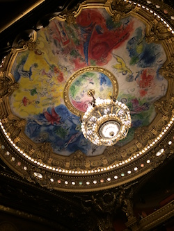 Palais Garnier. Photo by Elizabeth Ashley.