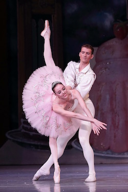 ABT's Kathryn Boren. Photo by Anthony Crowley.
