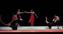 Boston Ballet in Wayne McGregor's 'Obsidian Tear'. Photo by Rosalie O'Connor, courtesy Boston Ballet.