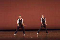 Daniel Ulbricht and Danielle Diniz in performance. Photo by Eric Swanson.