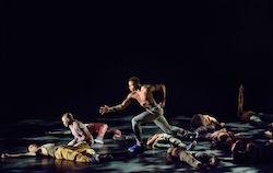 AAADT Dancers in Rennie Harris' 'Exodus'. Photo by Paul Kolnik.