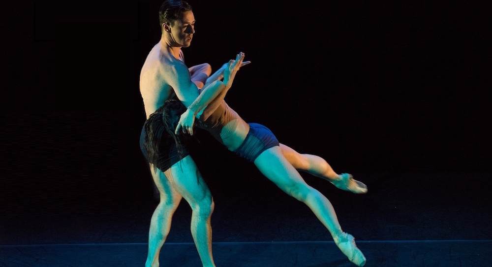 Arch Contemporary Ballet's 'Between the Lines'. Photo by Steven Pisano.