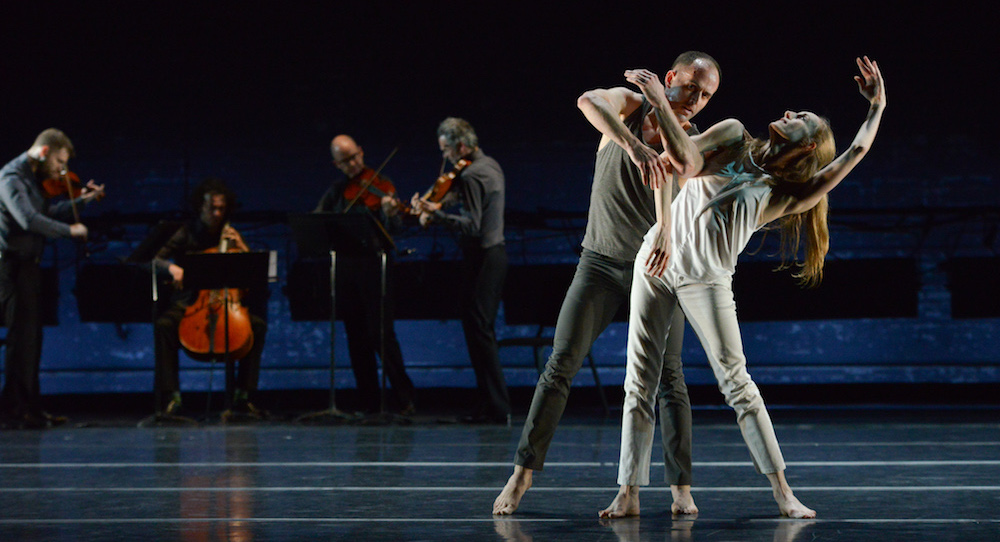 Brian Brooks and Wendy Whelan in 'Some of a Thousand Words'. Photo by Nir Arieli.