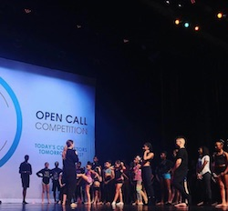 Emily Bufferd teaching at Open Call. Photo courtesy of Open Call Competition.