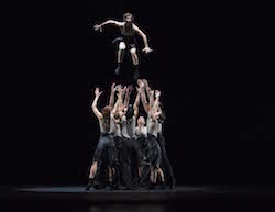 Malpaso Dance Comapny in 'Face the Torrent' by Sonya Tayeh. Photo by Rose Eichenbaum.