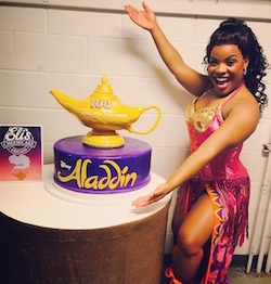 Michelle West of 'Aladdin' National Tour.