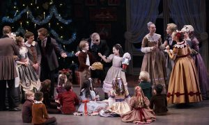 New York City Ballet in George Balanchine's The Nutcracker. Photo Paul Kolnik.