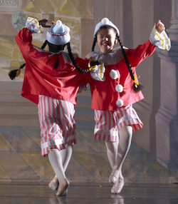 Polichinelles in José Mateo Ballet Theatre's 'The Nutcracker'. Photo by Gary Sloan.