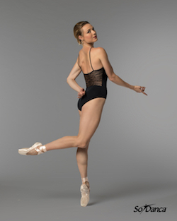 Sara Mearns for Só Dança. Photo by Bernardo Nogueira.