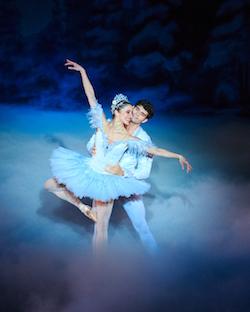 Allison DeBona and Rex Tilton in Ballet West's 'The Nutcracker'. Photo by Luke Isley.