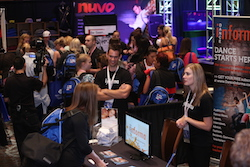 Dance Teacher Web Live Expo filled with the top dance merchants. Photo by David Williamson.